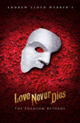 Phantom of the Opera's sequel, 'Love Never Dies' debuts January 30 and continues through February 11, 2018. Photo courtesy of Broadway in Boston