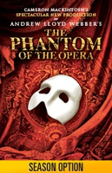Andrew Lloyd Webber's 'Phantom of the Opera' returns September 13 through October 1. Photo courtesy of Broadway in Boston