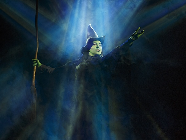 'Wicked' returns June 7 through July 23. Photo courtesy of Joan Marcus