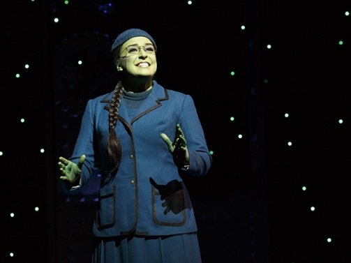 Elphaba Photo courtesy of Joan Marcus