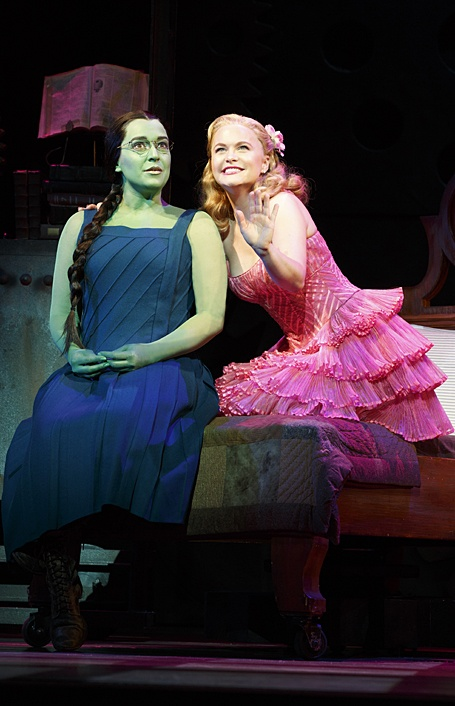 Elphaba and Glinda Photo courtesy of Joan Marcus