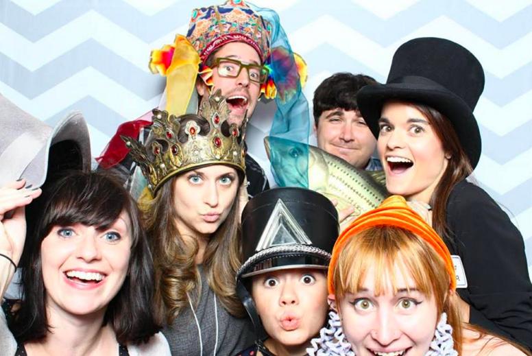 LCT Young Angels Party Corey Gosselin, Ryan Meitzler, Jessica Ferreira, Jenny Dorso, Briana Lynch, Mara Roberts, and Amanda Pekoe Photo courtesy of Amanda Pekoe/The Pekoe Group