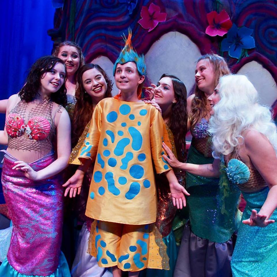 Company Theatre Flounder with cast