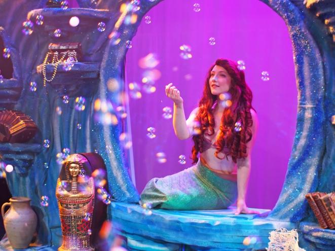Sarah Kelly as Ariel Photo courtesy of Zoe Bradford/Company Theatre