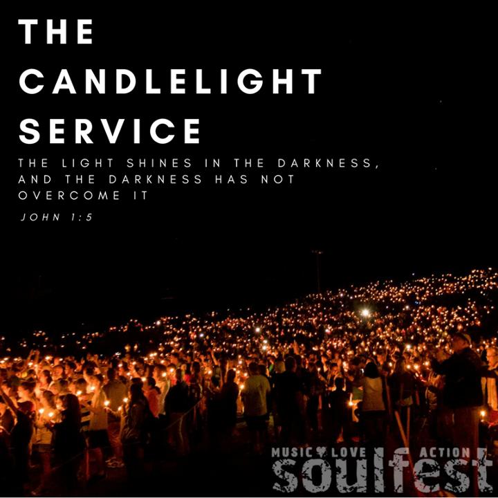 Soulfest candlelight service