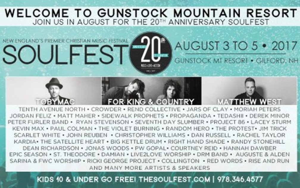 Soulfest Full lineup