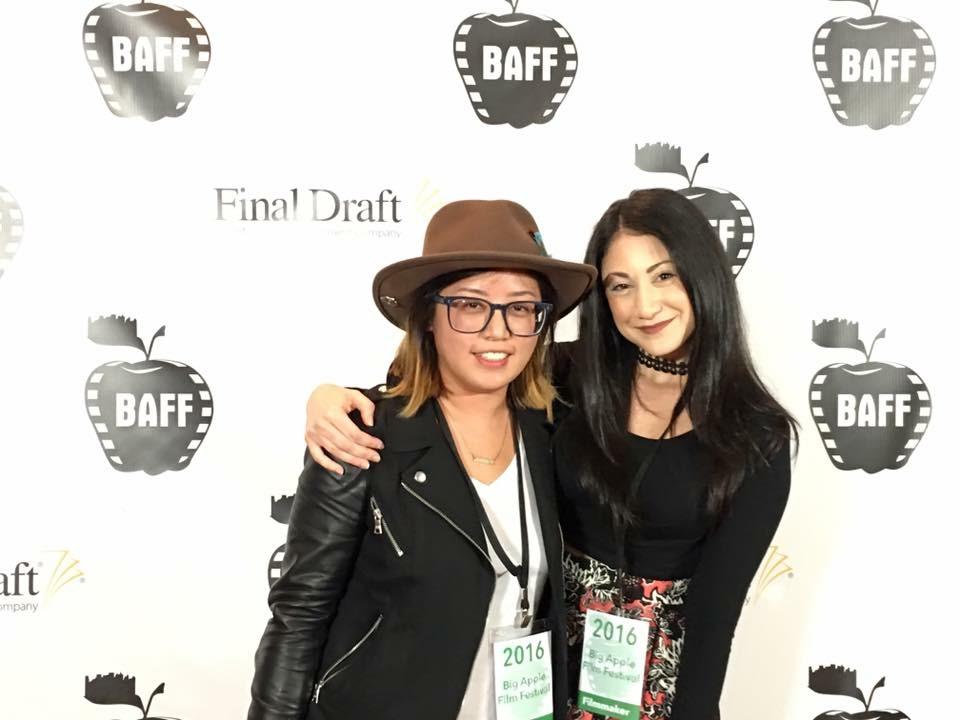 Stephanie Iscovitz with Cinder Chou
