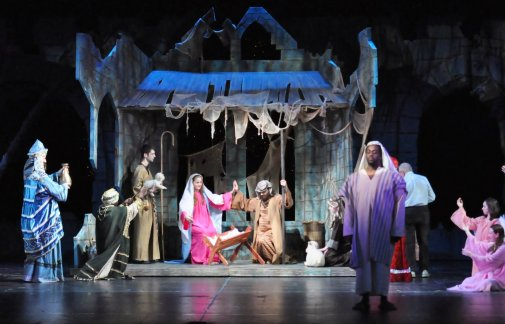 The Nativity Photo courtesy of Reagle Music Theatre of Greater Boston