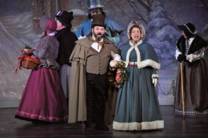 Carolers Photo courtesy of Reagle Music Theatre of Greater Boston