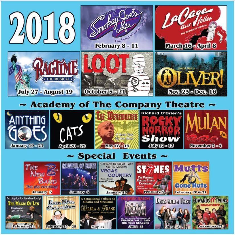 Company Theatre new season