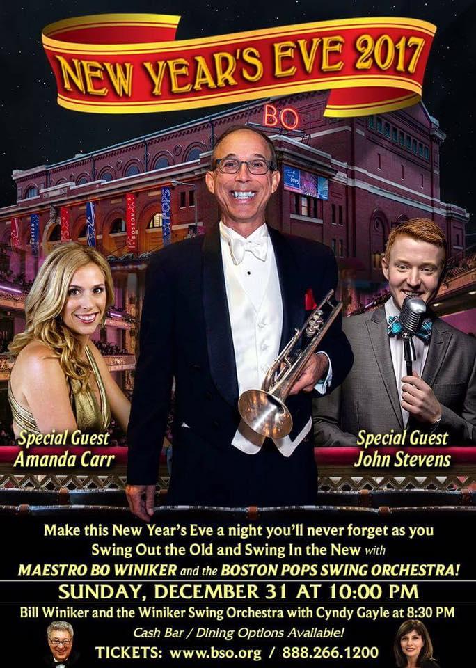 NYE Bo Winiker Symphony Hall 2017