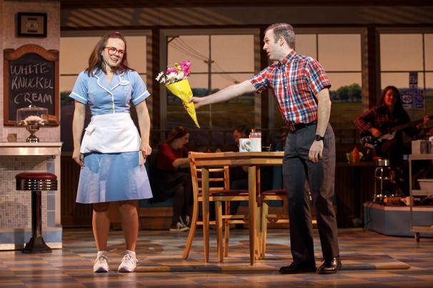 Waitress Lenne and Jeremy