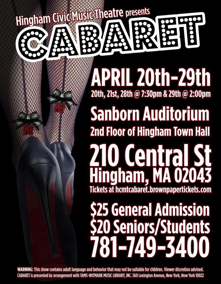 HCMT Cabaret poster