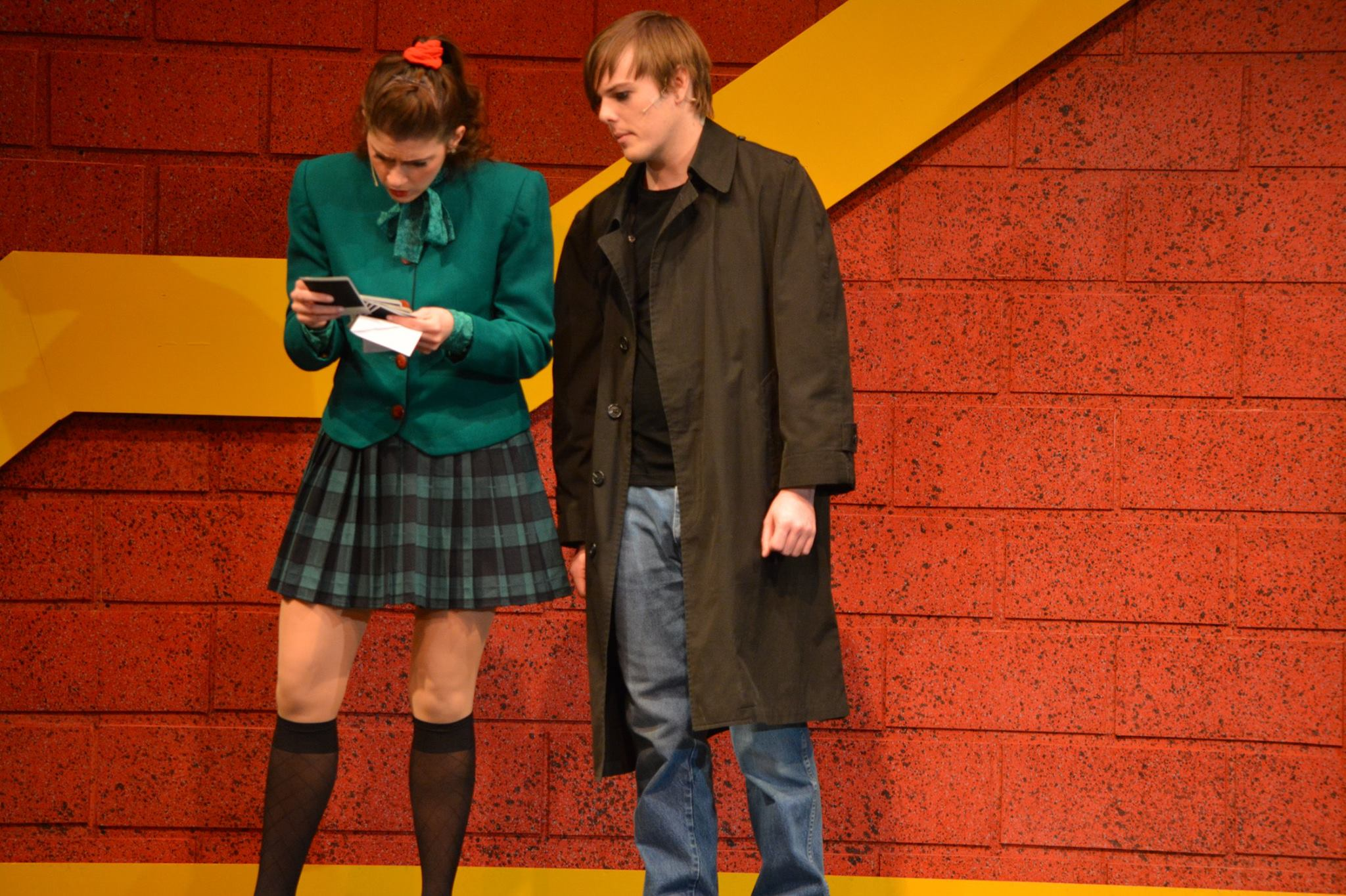 Heathers the Musical Veronica and J.D