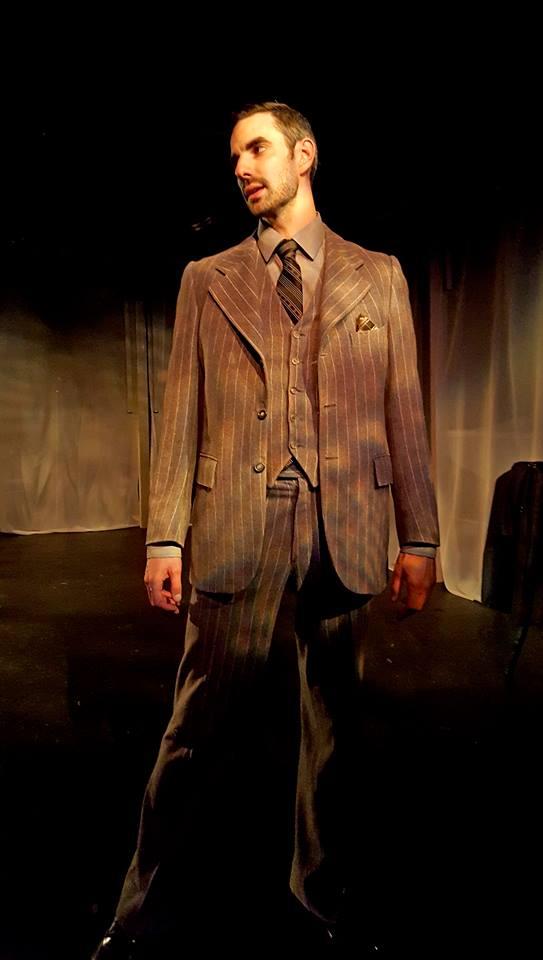 Noir Hamlet Paul Melendy as Hamlet