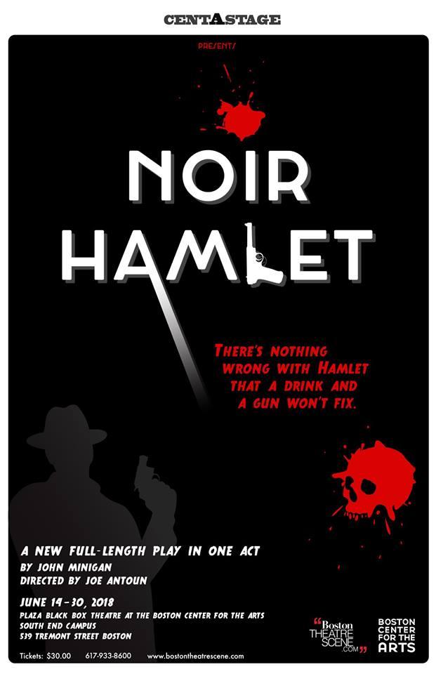 Noir Hamlet poster