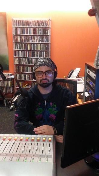 Richie Carvalho (JD Psychadelic) in studio