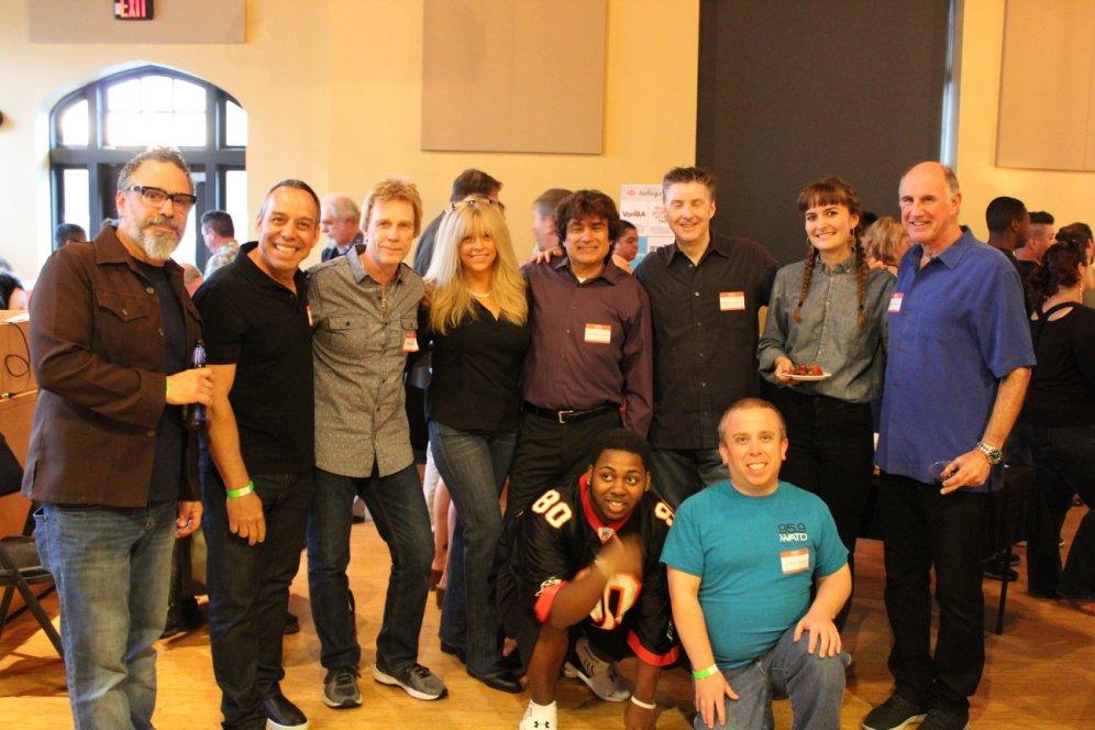 Gregg Daniels, Carter Alan, Chachi Loprete, John Shea, Brittany Thomas and Michael Cohen Photo courtesy of Zumix