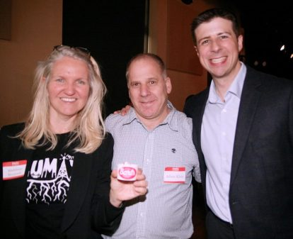 Madeleine Steczynski, Host Adam Klein, and Adrian Madaro Photo courtesy of Zumix