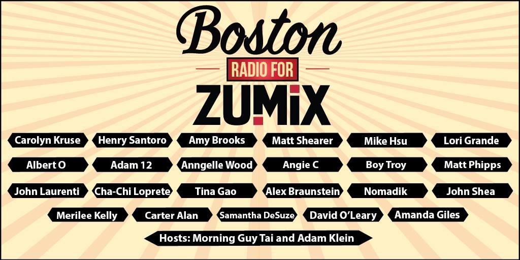 Zumix Radio DJs