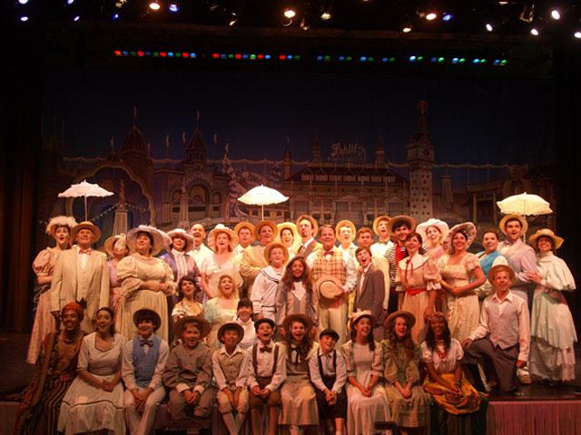 Company Theatre's Paragon Park cast