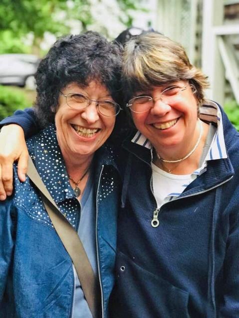Company Theatre co-founders Jordie Saucerman and Zoe Bradford, courtesy of Company Theatre