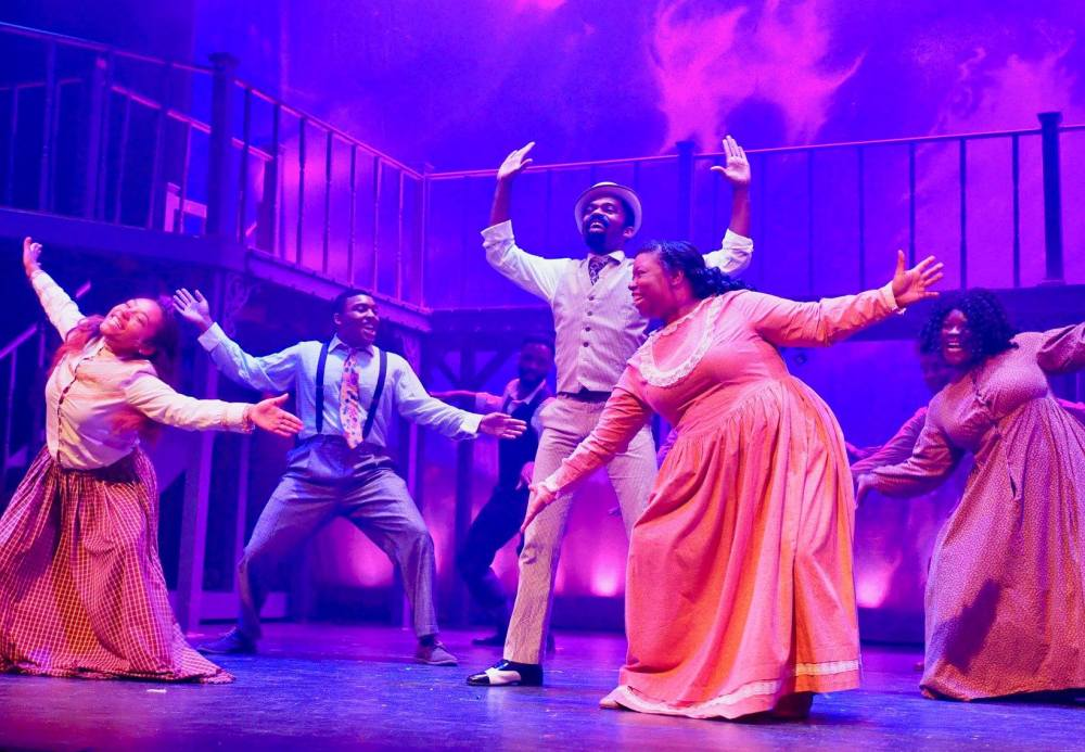 Company Theatre 'Ragtime' Colehouse Walker Jr and cast