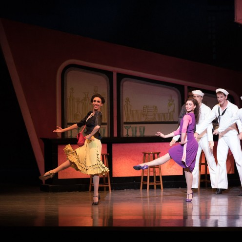 Boston Ballet in Jerome Robbin's Fancy Free; photo by Rosalie O'Connor; courtesy of Boston Ballet