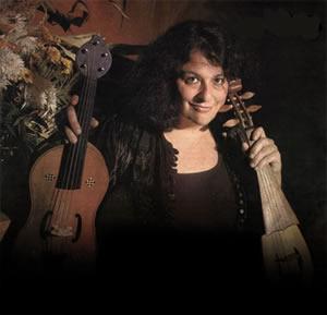 Shira Kammen on vielle, harp Photo courtesy of the Boston Camerata
