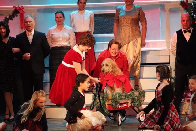 Annie Christmas photo