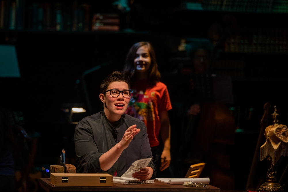 Fun Home - Alison_at_desk_SM_behind_246web