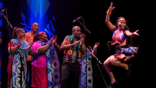 Celebrity Series Soweto Gospel Choir Dance