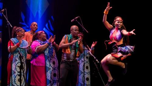 Celebrity Series Soweto Gospel Choir Dance