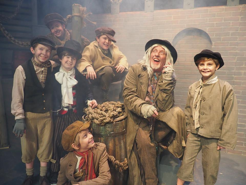 Company Theatre's Oliver - Oliver Fagin and Artful Dodger
