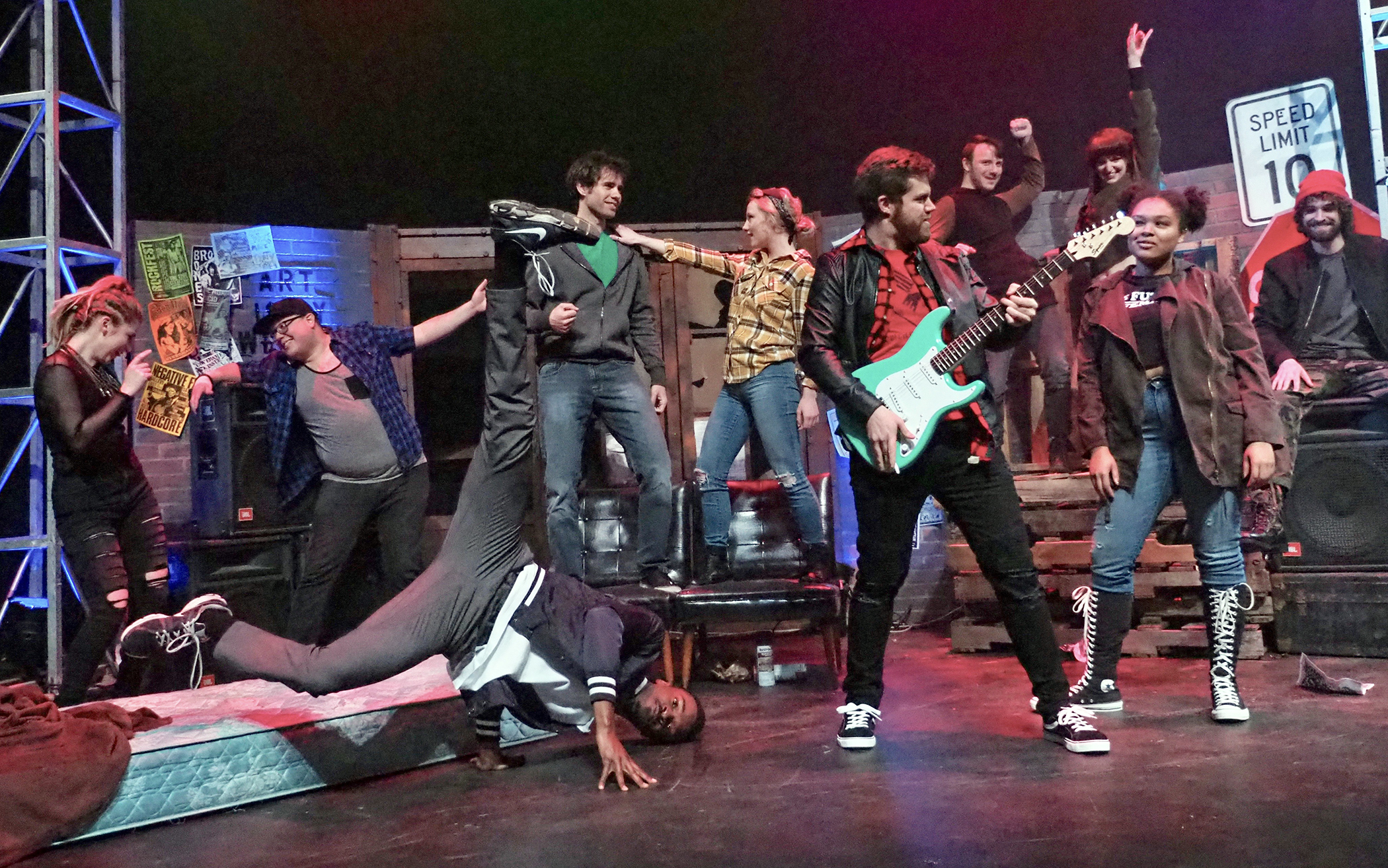 Cast of Green Day's 'American Idiot'