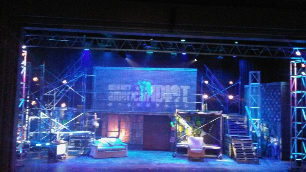 Green Day American Idiot set