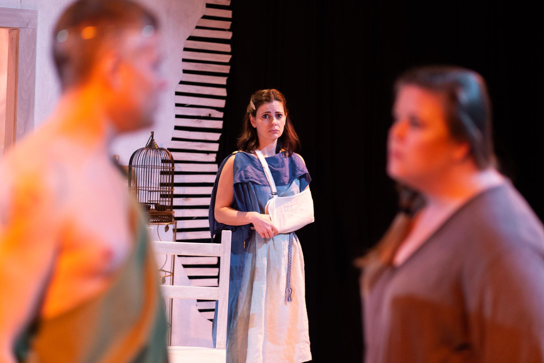 Flat Earth Theatre 'Not Medea' cast