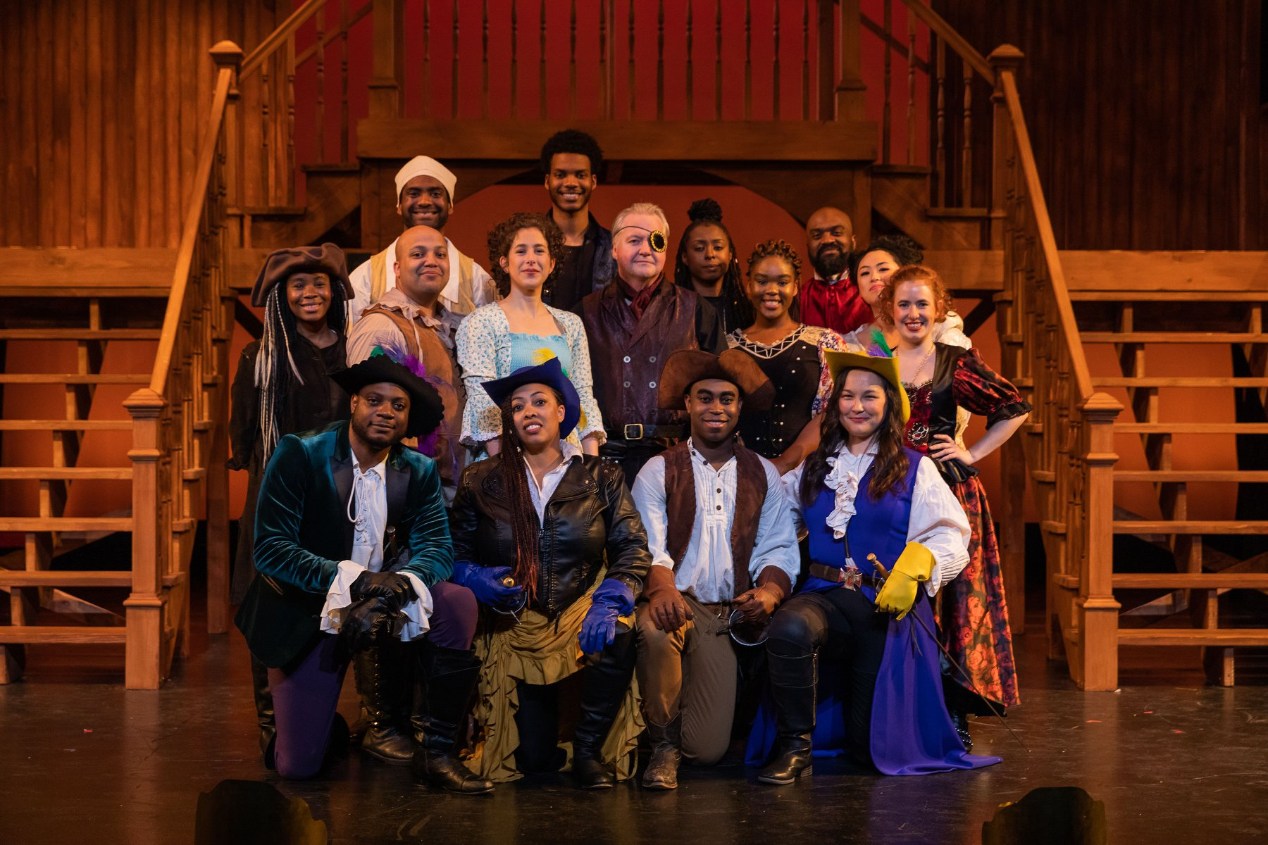Greater Boston Stage Company - The Three Musketeers cast