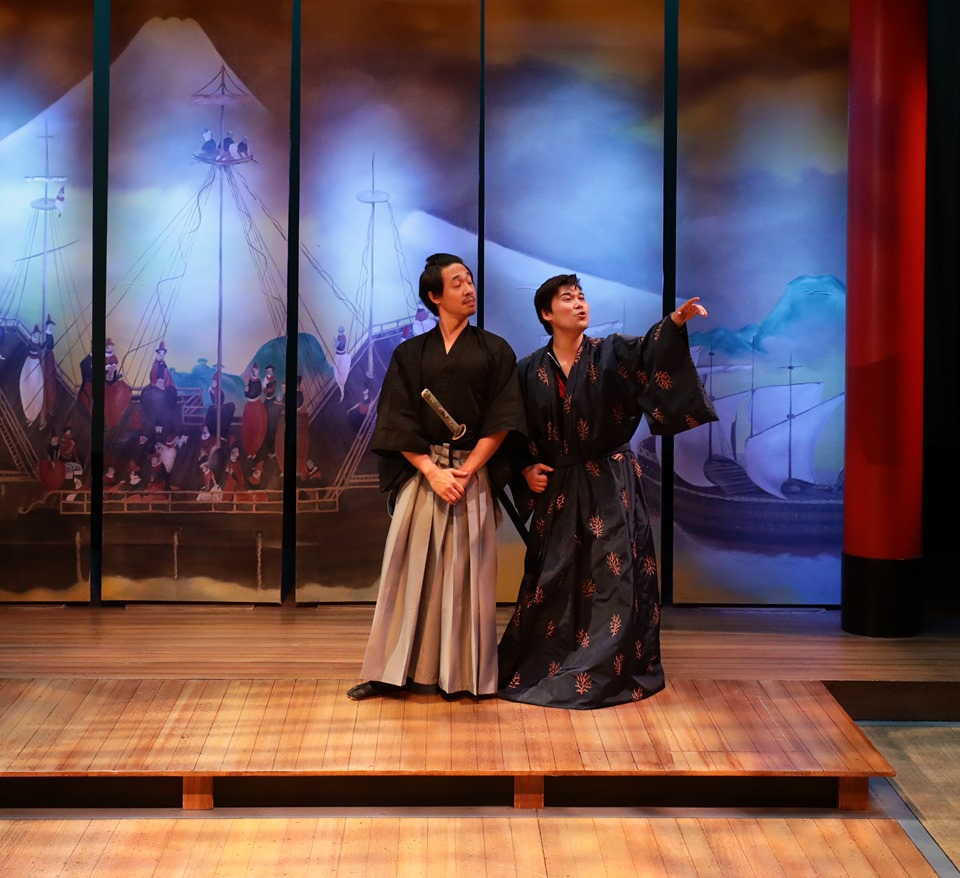 Lyric Stage Pacific Overtures Carl Hsu and Sam Hamashima