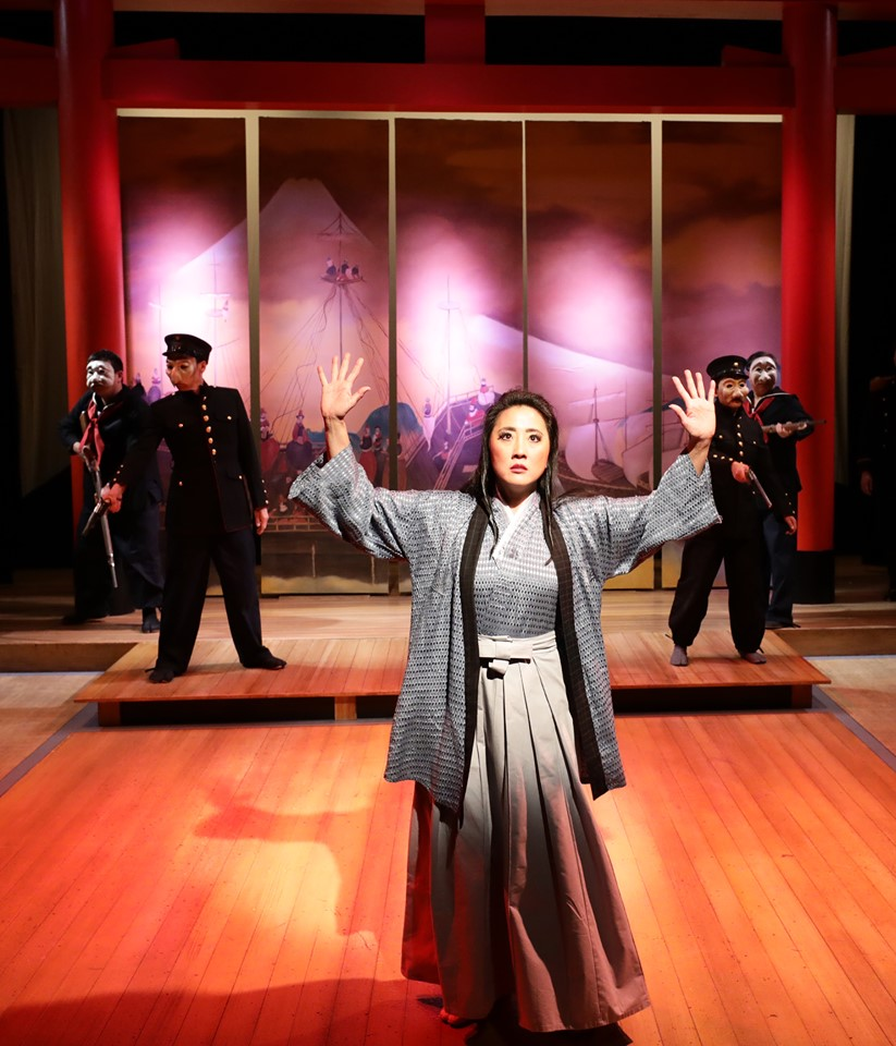 Lyric Stage Pacific Overtures cast