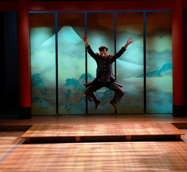 Kai Chao in Pacific Overtures. Photo by Mark S. Howard.