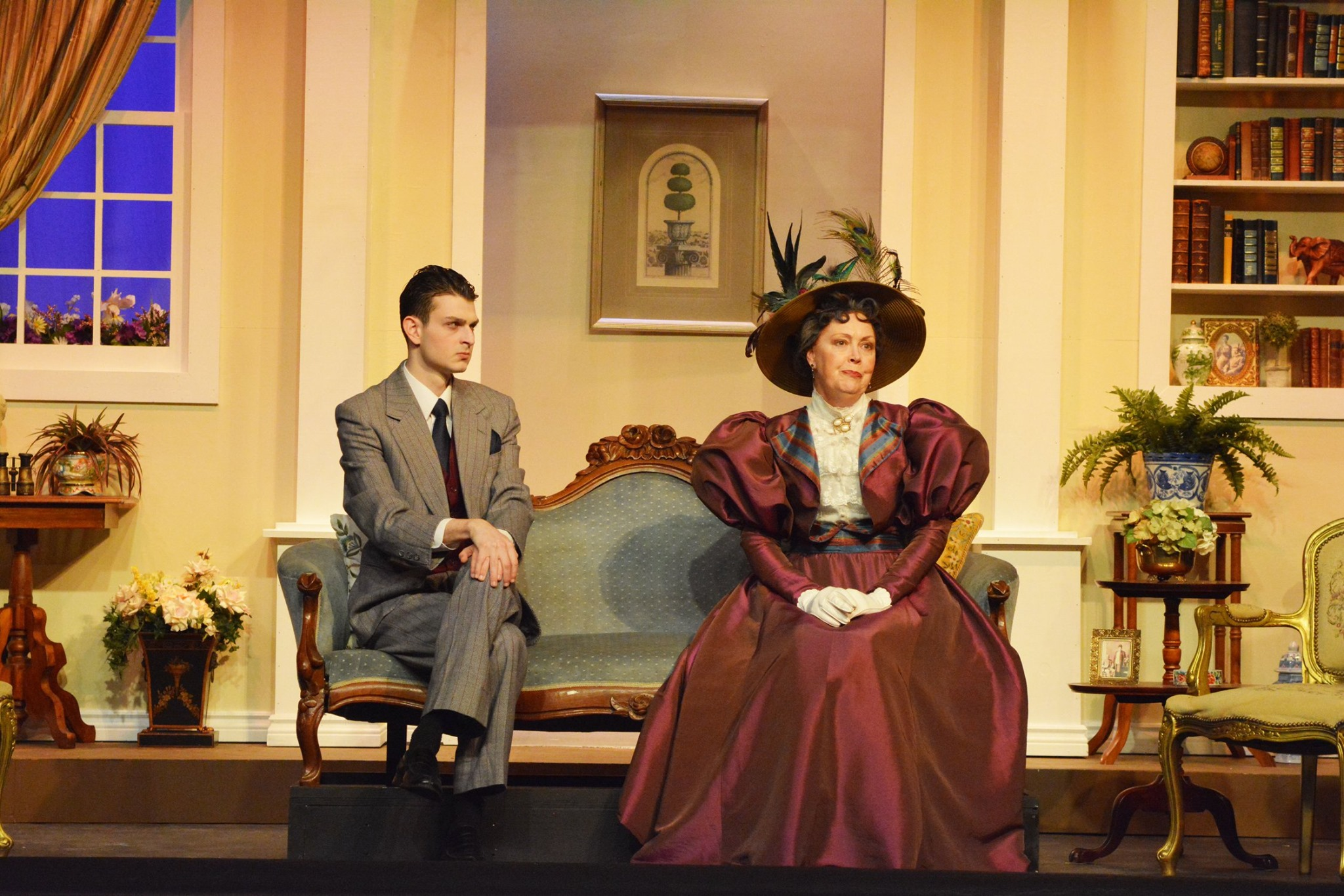 The Footlight Club The Importance of Being Earnest Michael Jay and Frances Price