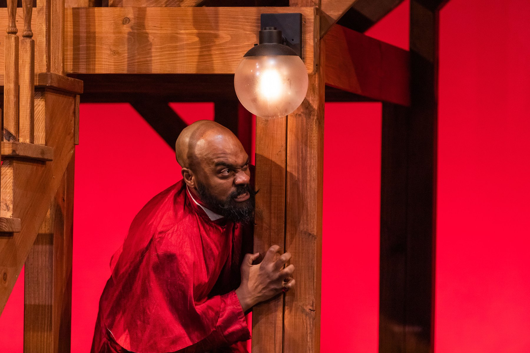The Greater Boston Stage Company - Maurice Emmanuel Parent as Cardinal Richelieu