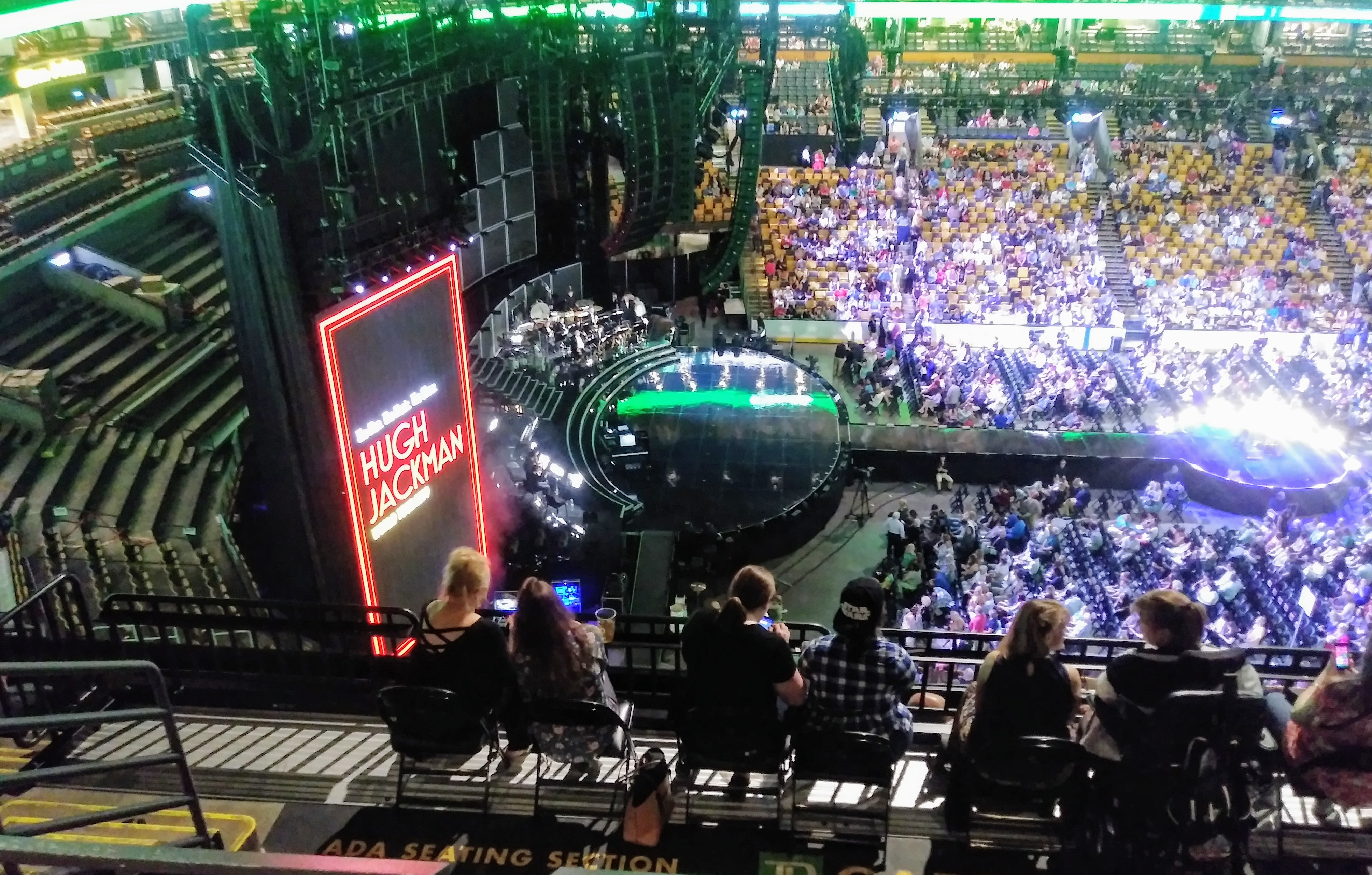 Hugh Jackman stage