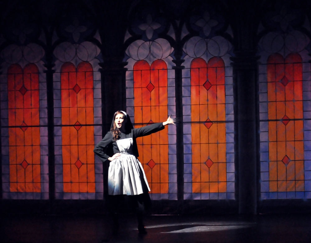 Reagle Music Theatre The Sound of Music Aimee Doherty as Maria Confidence in Me