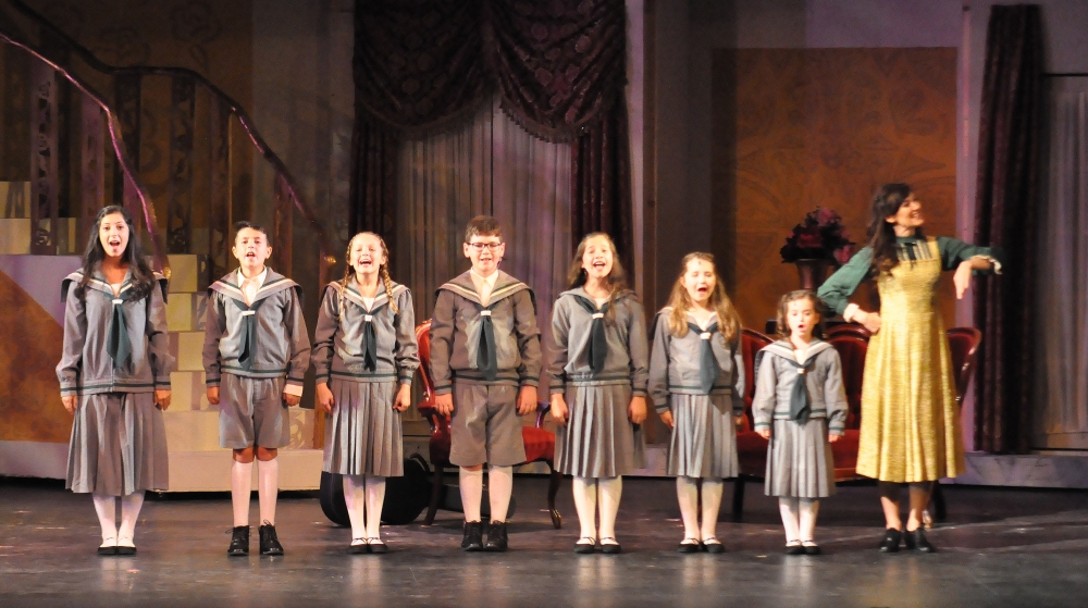 Reagle Music Theatres The Sound of Music Von Trapp Children