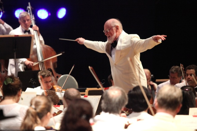John Williams at Tanglewood (Hilary Scott)