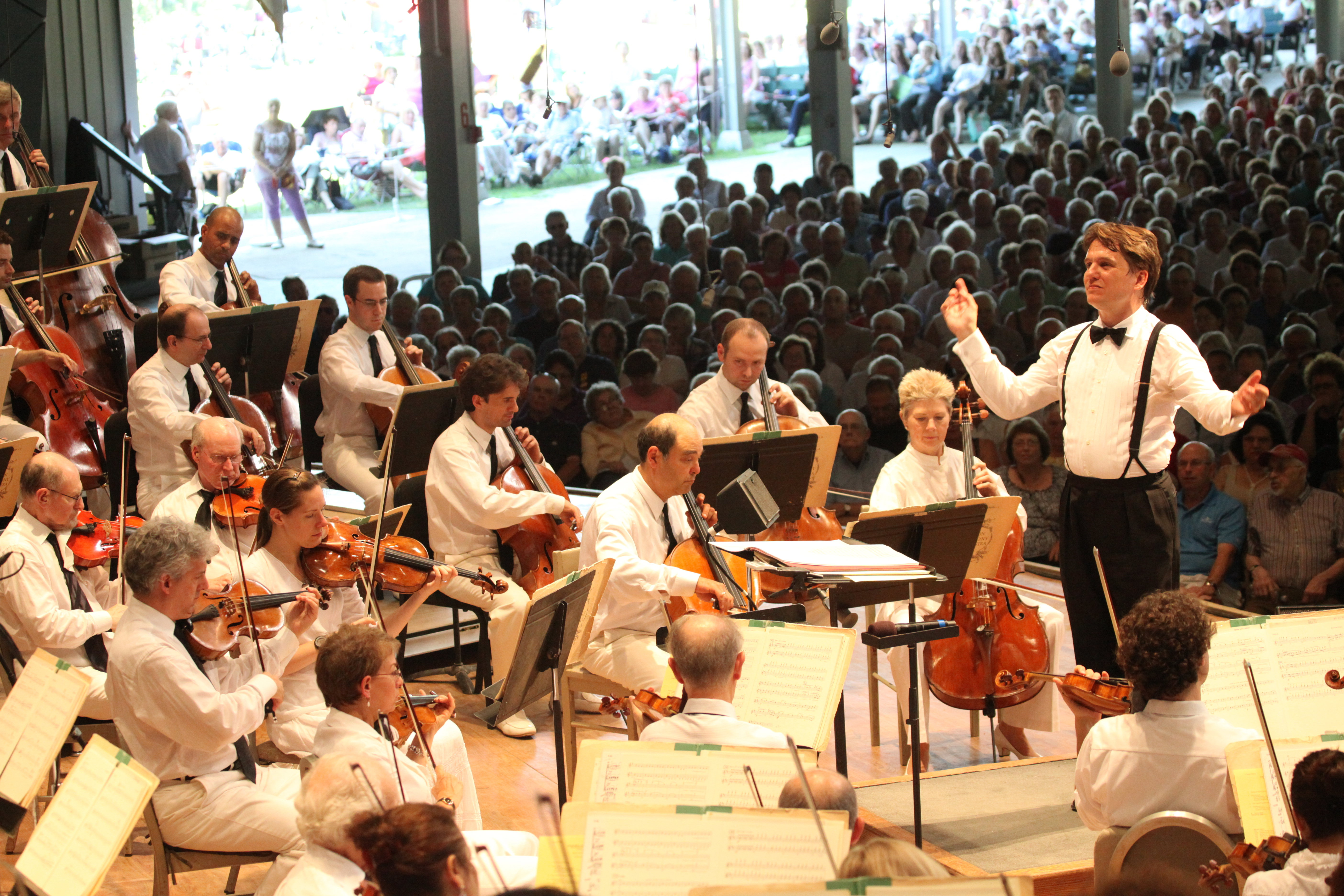 Keith Lockhart Leads the Boston Pops at Tanglewood (Hilary Scott)