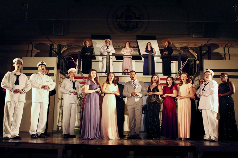 Little Theatre of Stoughton Anything Goes aboard the ship