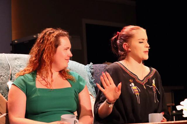 Hingham Civic Music Theatre The Annulment Celia and Nadine